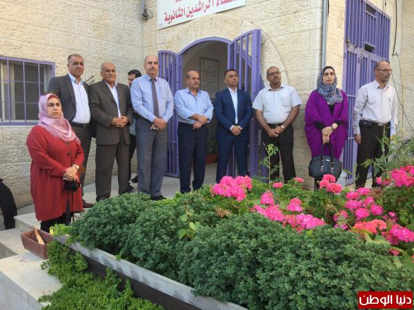 مدير تربية بيت لحم يفتتح العام الدراسي الجديد
