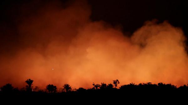 المالكي يعلن استعداد فلسطين لتقديم يد العون في اطفاء حرائق الأمازون