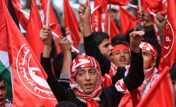 الجبهة الشعبية تدين العدوان الإٍسرائيلي على سورية ولبنان