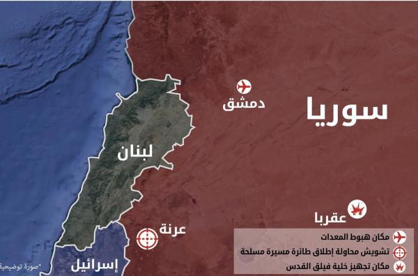 الجيش الإسرائيلي يكشف تفاصيل قصف أهداف إيرانية بسوريا الليلة الماضية