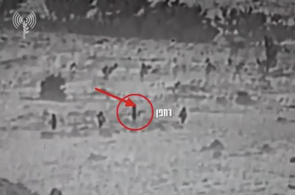 شاهد: جيش الاحتلال ينشر فيديو لنشطاء إيرانيين يطلقون طائرة مسيرة باتجاه إسرائيل