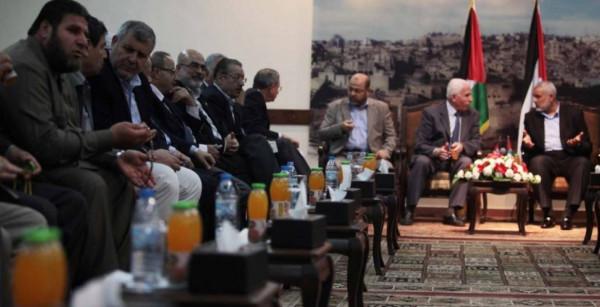 """قيادي فلسطيني: تحرك فصائلي لبلورة """"رؤية وطنية"""" للمصالحة ولا تفاهمات تهدئة جديدة"""