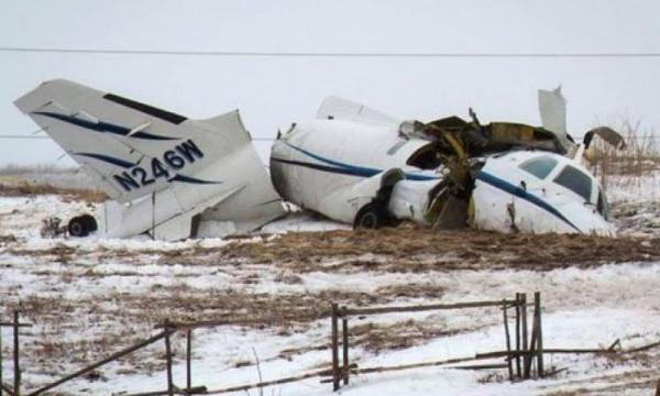 مقتل سبعة أشخاص في تصادم طائرتين بإسبانيا