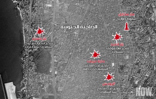 حماس عن قصف الضاحية الجنوبية: إسرائيل تلعب بالنار