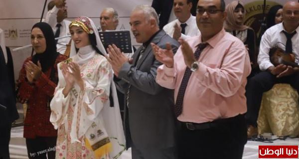 جامعة الأقصى تَحصد المركز الأول على جامعات غزة بمسابقة سفيرة التراث والفولكلور