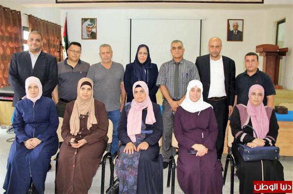 تربية قلقيلية تعقد لقاء عمل لأندية النزاهة والشفافية في المدارس