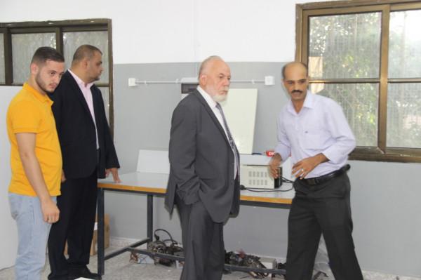 مدير عام تربية قلقيلية ينّظم جولة تفقدية لمدارس المحافظة