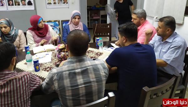 اللجنتان التحضيرية والإعلامية لمهرجان العودة الدولي تعقدان اجتماعاً مشتركاً