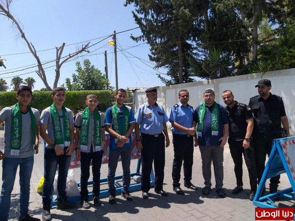 الكتلة الإسلامية بشرق غزة تطلق حملة درع الوطن