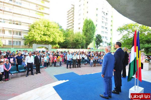 صور.. القادي: مدرسة القدس مثال للأبداع والتميز الفلسطيني في أوروبا