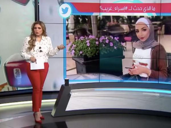 """سارة دندراوي تتعرض لموقف محرج على الهواء بسبب """"إسراء"""""""