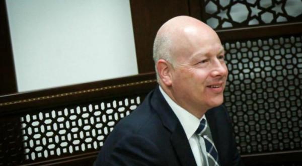 غرينبلات يُعلن استقالته من منصبه مبعوثاً للإدارة الأمريكية بالشرق الأوسط