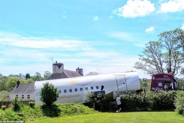 طائرة تتحول إلى منزل عطلات مميز