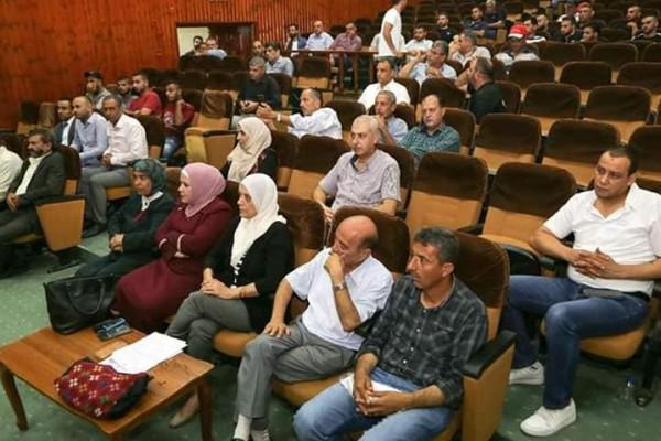 انتخاب الإعلامي نعيم سويلم رئيسا للجنة الشعبية لشئون اللاجئين في قلقيلية