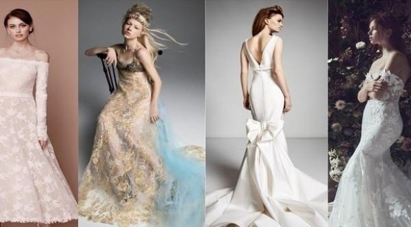 أجمل فساتين الأعراس في أسبوع نيويورك للأزياء