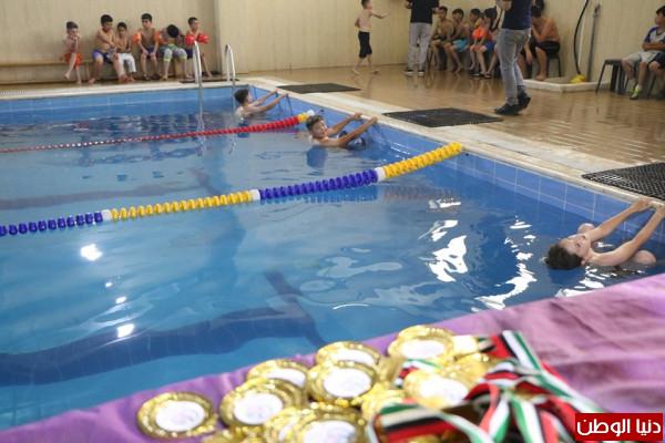 مركز طارق بن زياد المجتمعي ينظم بطولة سباحة للأشبال