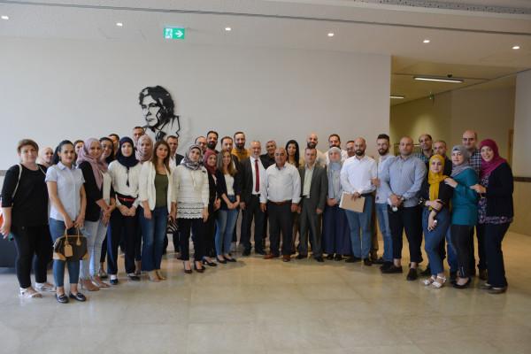 الجامعة العربية الامريكية تنظم لقاء لطلبة الماجستير حول صندوق الاستثمار الفلسطيني والتنمية