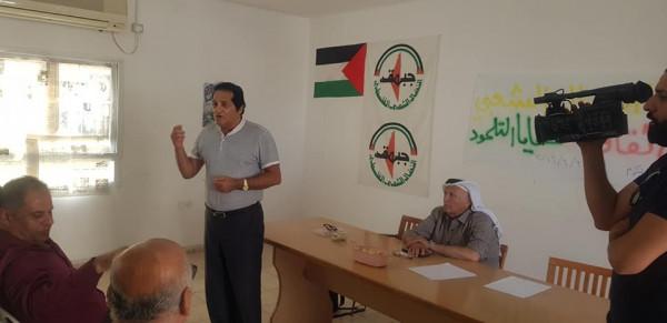 """جبهة النضال الشعبي في طولكرم تنظم ندوة حول """"خفايا التلمود"""""""