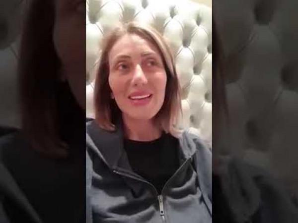 تسجيل صوتي يكشف السبب الحقيقي لاعتزال ريهام سعيد الإعلام