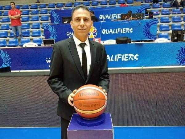 الدولي عنان دراغمه حكماً في بطولة الحريري لكرة السلة بلبنان