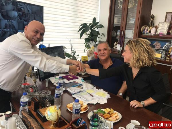 النائب عيساوي فريج في زيارة لبلدية الناصرة: وجدتُ في الناصرة حضناً دافئاً