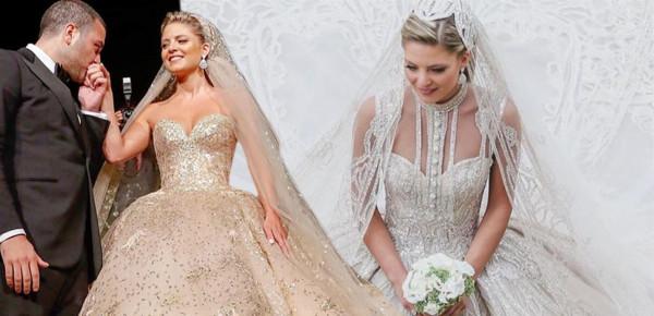 فستان زفاف جديد لإيلي صعب..هل هو أجمل من الذي صمّمه لعروس ابنه؟