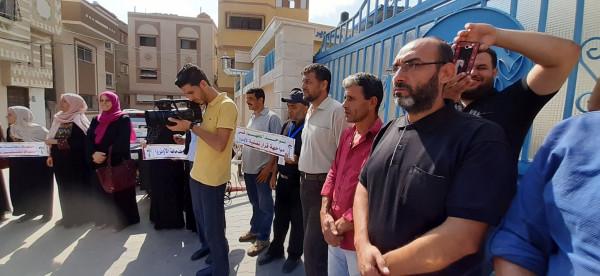 المخيمات الفلسطينية بقطاع عزة تنتفض دعما للأونروا ورفضا لمحاولات تصفيتها