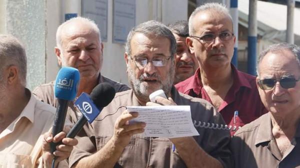 اللجنة الشعبية للاجئين بغزة تنظم وقفة جماهيرية دعمًا لتجديد التفويض لـ (أونروا)