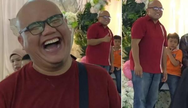 شاهد: رد فعل رجل ماليزي بعدما فوجئ بـ شبيهه في حفل زفاف