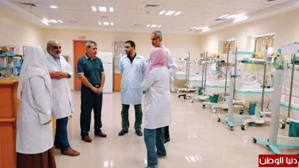 مدير تمريض مستشفيات الصحة يُؤكد على ضرورة تعزيز كوادر حضانة شهداء الأقصى