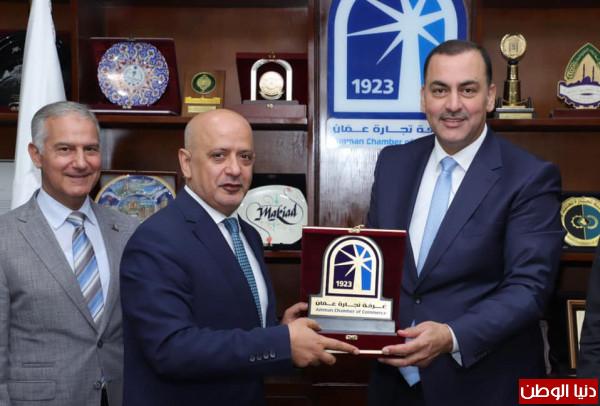 توقيع اتفاقية تعاون بين غرفة تجارة الاردن ورام الله