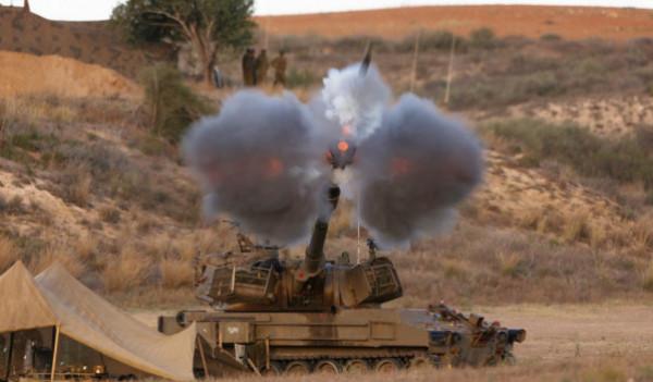 إطلاق ثلاثة صواريخ من غزة تجاه المستوطنات ومدفعية الاحتلال تقصف هدفين شمال القطاع