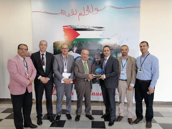 جامعة النجاح تشارك في المنتدى الوطني الرابع الثورة الصناعية الرابعة