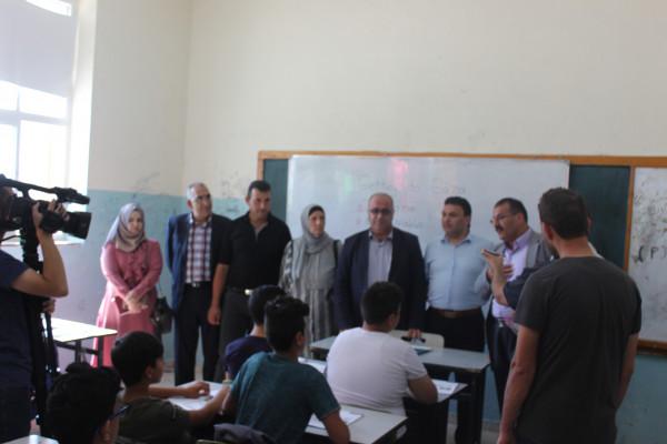 مديريتا التربية والإعلام تنظمان جولة للصحفيين في مدارس البلدة القديمة في الخليل