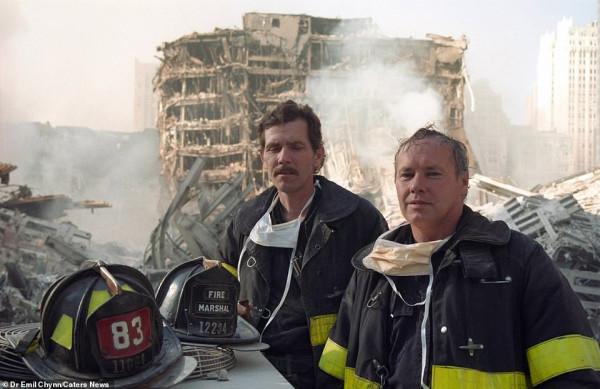 في الذكرى الـ18 لحدوثها.. صور لم تراها من قبل لحادثة 11 سبتمبر