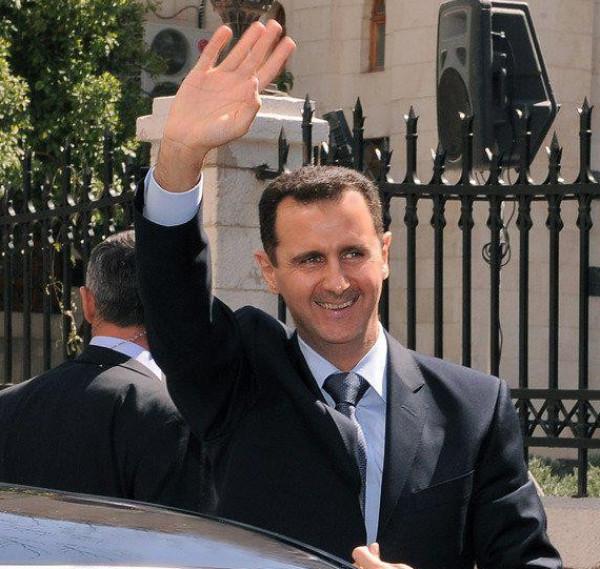 شاهد: الجمهور السوري يفاجئ الأسد بعيد ميلاده