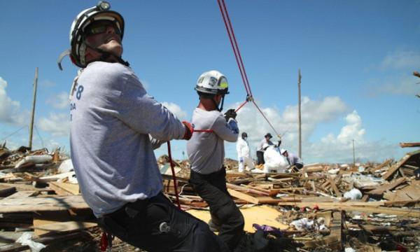 2500 مفقود بسبب إعصار (دوريان) بجزر الباهاما
