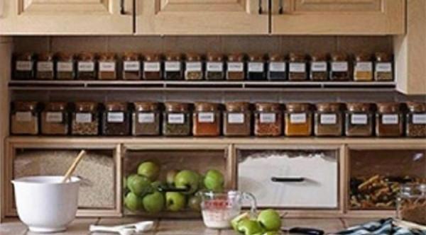 5 طرق عملية لتخزين أدوات المطبخ