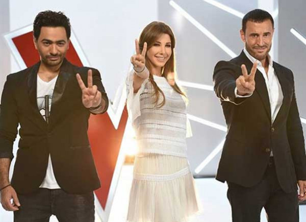 نانسي عجرم تكشف أسباب انسحاب كاظم الساهر وتامر حسني من The Voice Kids