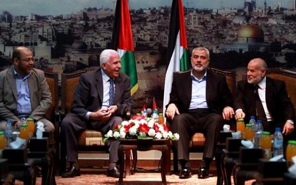 حماس تُطالب بإلغاء (أوسلو) وتطبيق اتفاقي القاهرة 2011 وبيروت 2017