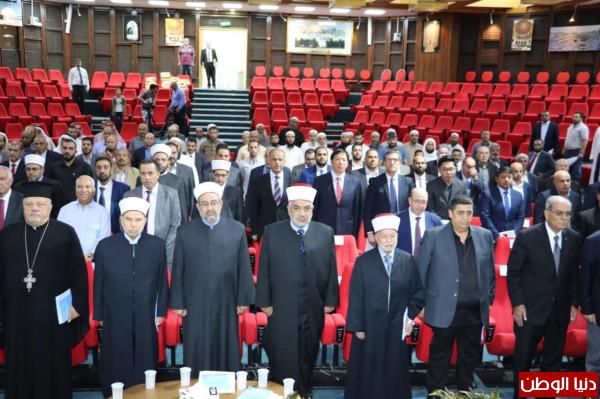 """اللجنة الوطنية تشارك في """"الندوة الأقليمية حول التراث الثقافي والحضاري"""" بالقدس"""