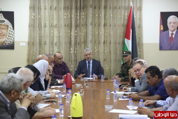 عصام أبو بكر يجتمع مع مجلس الطوارئ تحضيراً لاستقبال فصل الشتاء