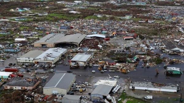 آلاف المفقودين في الباهاما الأمريكية بسبب إعصار (دوريان)