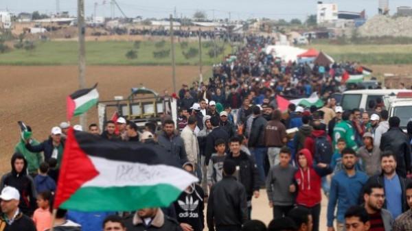 في الجمعة الـ74.. الصحة: إصابة 55 مواطناً برصاص الاحتلال شرقي القطاع