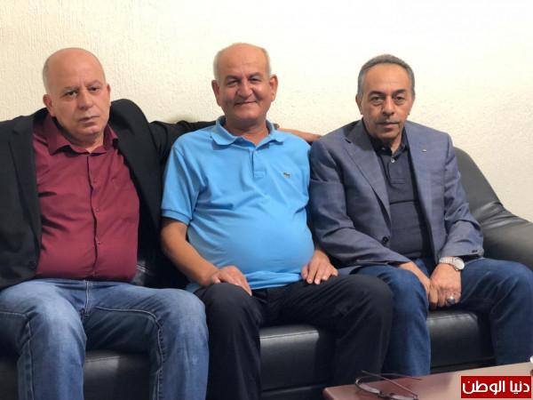 اللواء دخل الله يستقبل ناظم اليوسف في بيروت