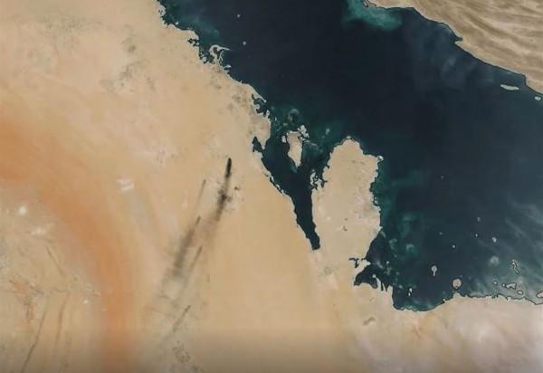 """النفط السعودي """"يُصاب في مقتل"""".. وناسا توضح حجم الكارثة"""