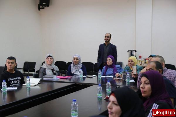 """""""يبوس"""" و""""أوربت"""" تختتمان ورشة تدريبية حول إدارة الحملات الانتخابية في رام الله"""
