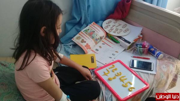 مدرسه حكومية بمجمع فلسطين الطبي لإعطاء الفرصة للأطفال المرضى للالتحاق بالمدرسة