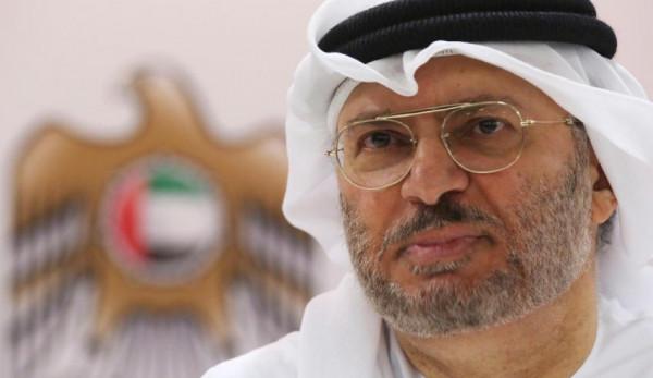"""قرقاش: الهجوم على """"أرامكو"""" يطال أبو ظبي أيضاً"""