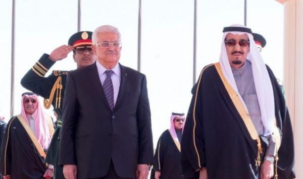الرئيس عباس للملك سلمان: نؤكد وقوف فلسطين لجانب السعودية